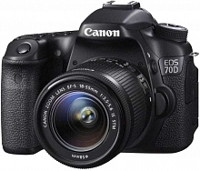 Canon EOS 70D Kit 18-55mm IS STM (черный)